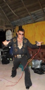 David Weber aka ELVIS preforming and doing his fantastic show for us all
