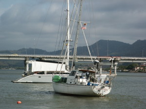 The Sailing Vessel of Al & Yevette Briggs- Sailfisher that was lost at sea