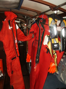 My Mustang Suit & Full Immersion Suit for cold water