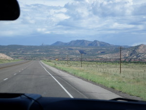Beautiful scenery on our road trip to Colorado