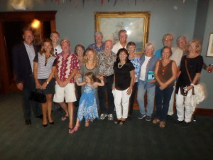 Special Family and Friends who came to see Jeff for his show