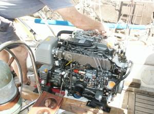 Our New 54 HP Yanmar Diesel Engine