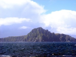 CAPE HORN ISLAND SEEN AS I GO BY