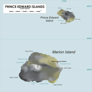 THE PRINCE EDWARD ISLANDS & MARION ISLANDS HOW THEY LOOK