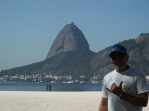 Jeff in Rio & Sugar Loaf Mountain,Brazil