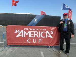 2013 September  Time we spent in San Francisco watching the most exciting race in history
