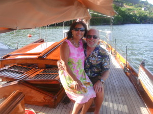 Just the two of us on our great friends sailboat-ASTOR