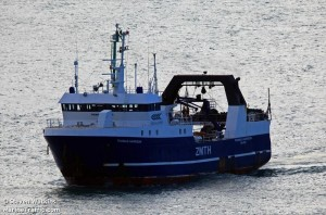 "TRAWLER ""THOMAS HARRISON"" WHOM JEFF HAS BEEN SPEAKING TO"