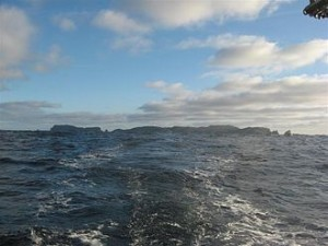 SNARE ISLAND AS THEY SAW IT AS THEY SAILED BY