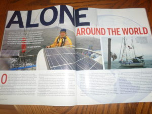 A BIT OF THE ARTICLE IN SAIL MAGAZINE