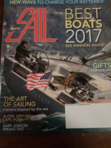 2ND ARTICLE IN DECEMBER ISSUE OF SAIL MAGAZINE