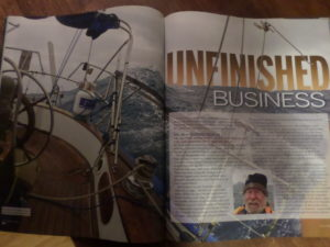 A BIT OF THE ARTICLE IN THE SAIL MAGAZINE
