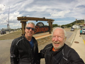Dan & Jeff at Sturgis, South Dakota