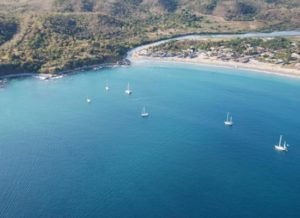 PUNTA PERULA ,MEX. Where I was anchored